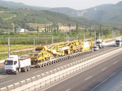 Nicht alltäglicher Baustellenwechsel in der Türkei